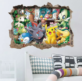 Pokemon Muursticker