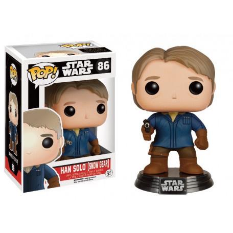 Funko Pop! Star Wars: The Force Awakens Han Solo In Snow Gear Le - Verzamelfiguur