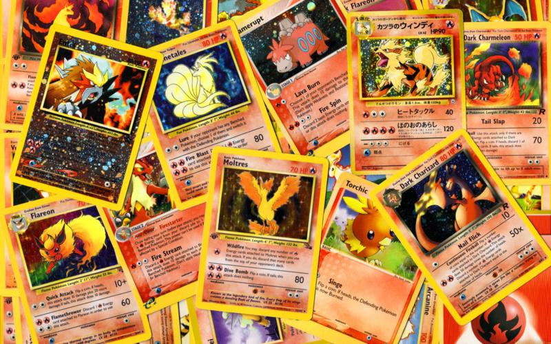 50x random pokemon kaarten