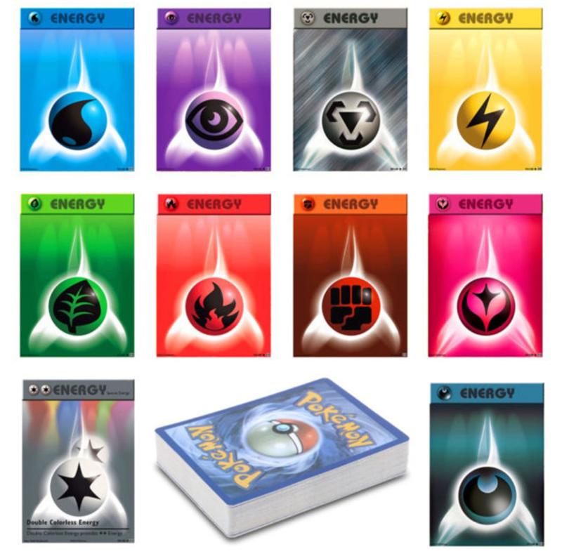 50x pokemon energie kaarten