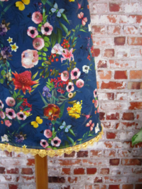 DIY pakket Louise bloemen herfst blauw