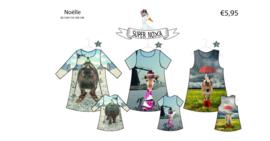 Patroon Noelle jurkje voor paneelstoffen