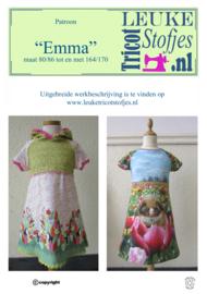 "DIY pakket ""EMMA"" Queen licht blauw-roze"