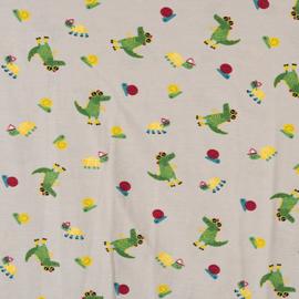 Rolschaatsende krokodillen