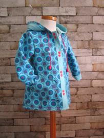 DIY pakket jasje Fleur licht blauw rozet