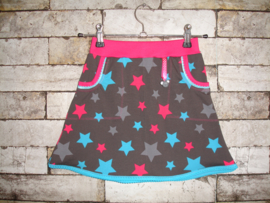 DIY pakket Linda pink and blue stars