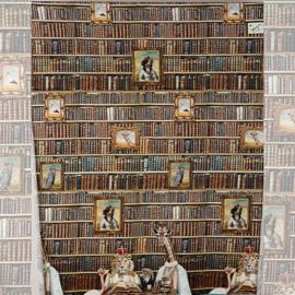 STENZO paneel / Bibliotheek