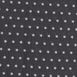 Witte sterren op zwart