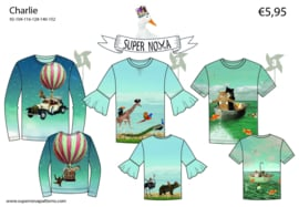 Patroon Super Nova Charlie T- shirt