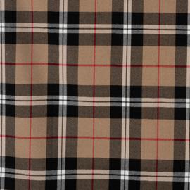 Schotse ruit Bruin met foutje