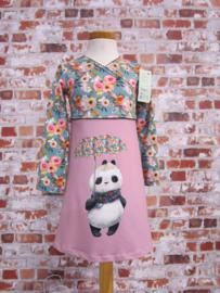DIY pakket FENNA Panda licht blauw-roze