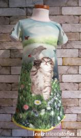 DIY pakket jurk poes met papagaai