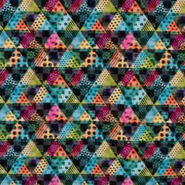 Kleurige driehoeken
