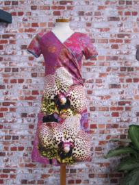 DIY pakket overslagjurk LOUISE Orchidee