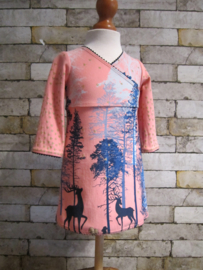 DIY pakket FENNA Winter wonderland met glitter roze