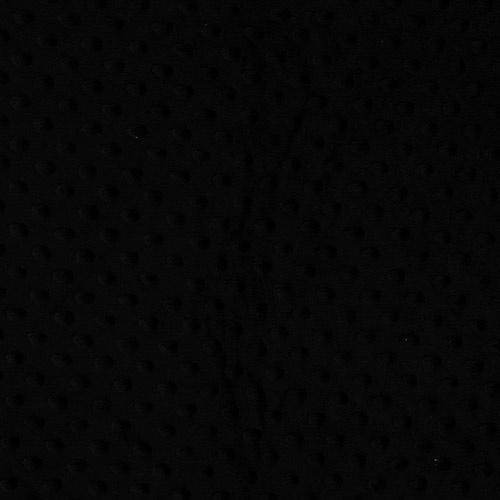 MINKY FLEECE / effen zwart