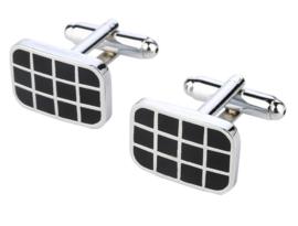 Manchetknopen 12 squares