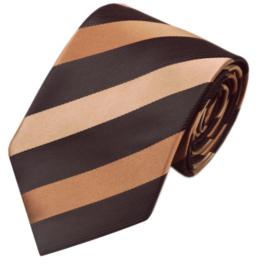 Luxe stropdas Cappuccino