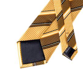 Stropdas set yellow gold