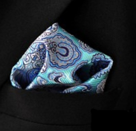 Pochet turquoise