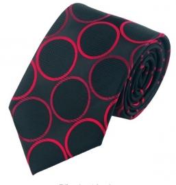 Stropdas set met manchetknopen en pochet Crimson