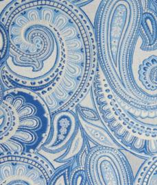 Pochet Light blue Paisley