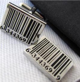 Manchetknopen EAN barcode