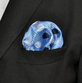 Pochet Baby blue dots