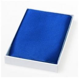 Pochet zijde Royal blue