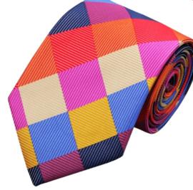 Stropdas Colour square