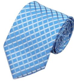 Stropdas Blue square
