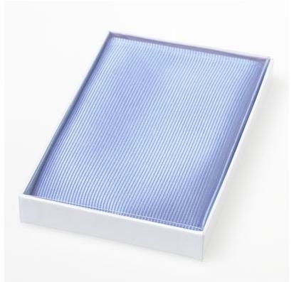 Pochet zijde Light Blue