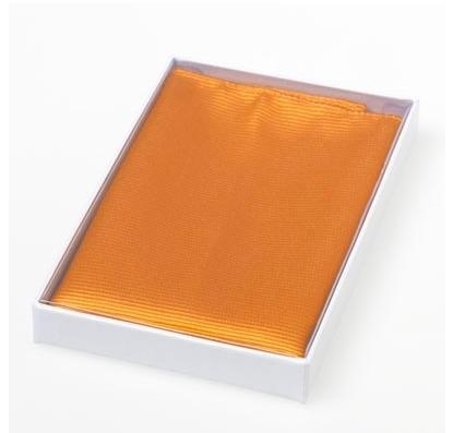 Pochet zijde Orange