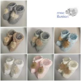 MAC ILUSION - newborn slofjes