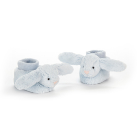 Jellycat Bashful Blue Bunny Booties