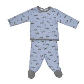 "BABIDU - newborn pyjama ""perritos"""
