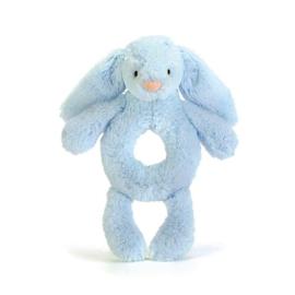 Jellycat - Bashful Blue Bunny Rammelaar