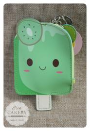 Kawaii ijsjes portemonnee ~ kiwi