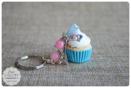 Blauwe xl cupcake #1