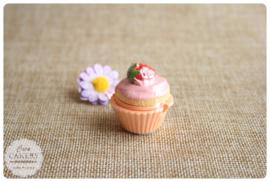 Cupcake lipgloss aardbei