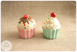 Zout en peper set - Cupcake