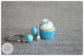 Blauwe xl cupcake #2