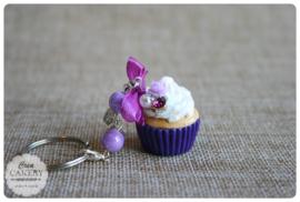 Paarse xl cupcake #1
