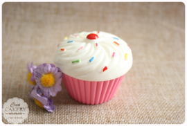 Cupcake handcrème - roze