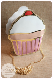 Cupcake tas Glitter