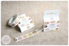Donut washi tape