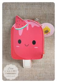 Kawaii ijsjes portemonnee ~ meloentje