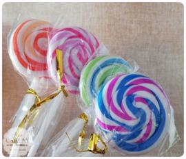Lollypop gum