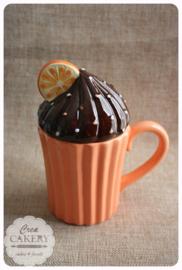 Mok - Cupcake Sinaasappel
