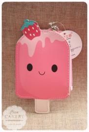 Kawaii ijsjes portemonnee ~ Aardbeitje